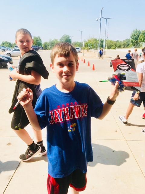 Children at BuckleUp Schools Event