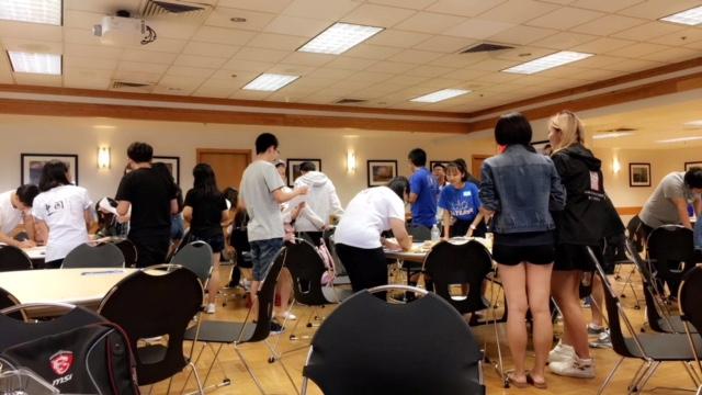 BuckleUp Schools students in class